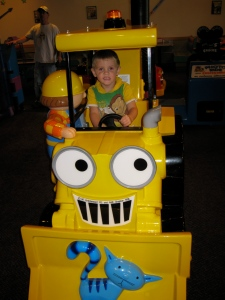 Dylan on Bob the Builder's 'Dozer